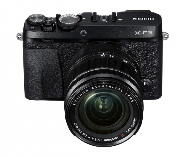 Fujifilm X-E3 18-55mm f2.8-4 OIS czarny - 454743 - zdjęcie
