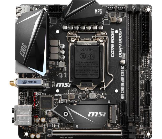 MSI MPG Z390I GAMING EDGE AC - 454152 - zdjęcie 2