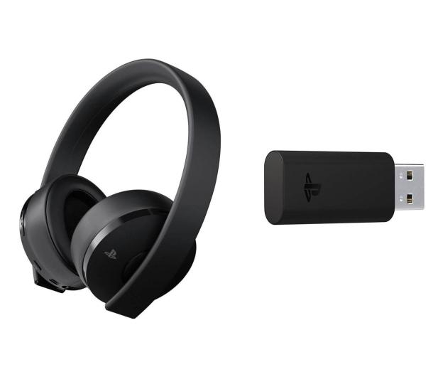 Sony PlayStation 4 Wireless Headset Gold + Fortnite DLC - 510222 - zdjęcie 3
