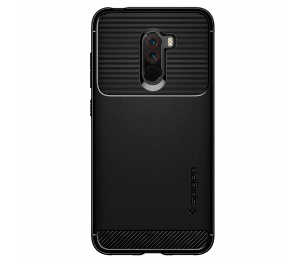 Spigen Rugged Armor do Xiaomi Pocophone F1 Black - 455361 - zdjęcie 2