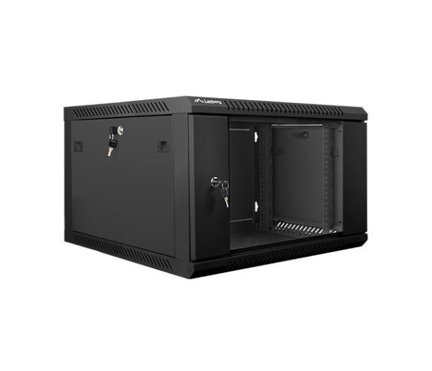 """Lanberg Wisząca 19"""" 6U 600x600mm jednosekcyjna (czarna)  - 455289 - zdjęcie 3"""
