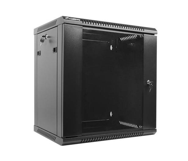 """Lanberg Wisząca 19"""" 12U 600x450mm jednosekcyjna (czarna)  - 455293 - zdjęcie 3"""