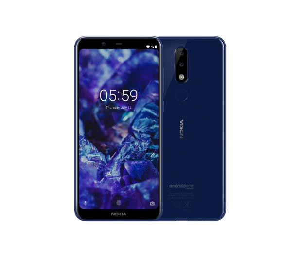 Nokia 5.1 PLUS Dual SIM niebieski - 461228 - zdjęcie