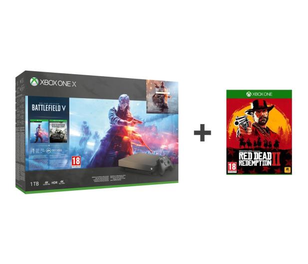 Microsoft Xbox One X 1TB+BF5+BF1943+Red Dead Redemption 2 - 453268 - zdjęcie