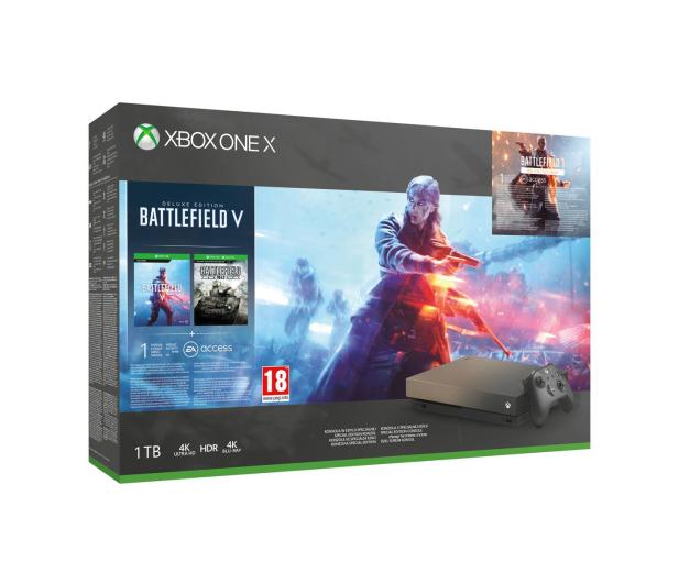 Microsoft Xbox One X 1TB+Battlefield 5+BF1943+Gears of War 4 - 460389 - zdjęcie
