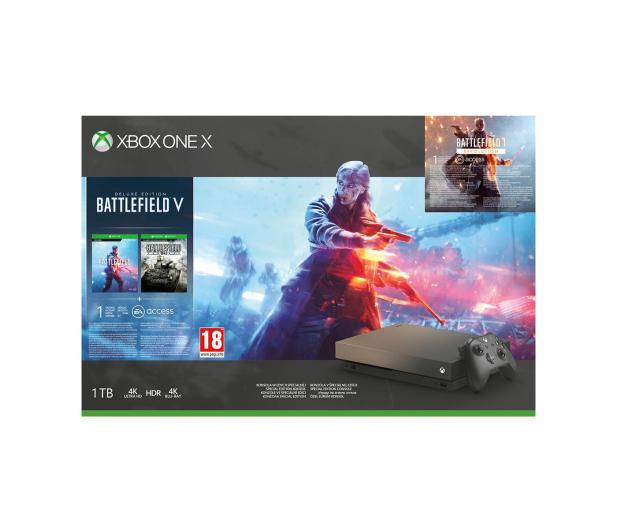 Microsoft Xbox One X 1TB+Battlefield 5+BF1943+Gears of War 4 - 460389 - zdjęcie 4