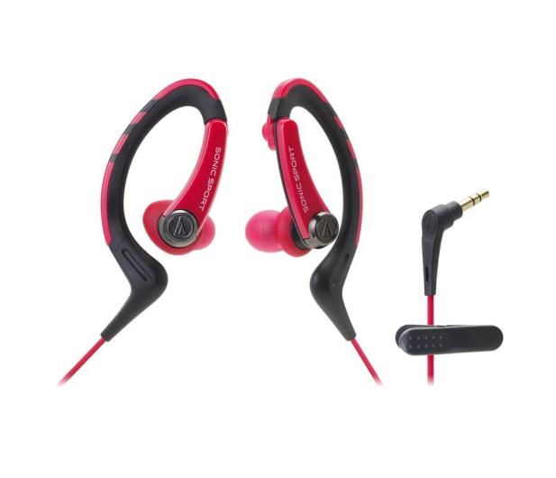 Audio-Technica ATH-SPORT1 Czerwony - 461498 - zdjęcie