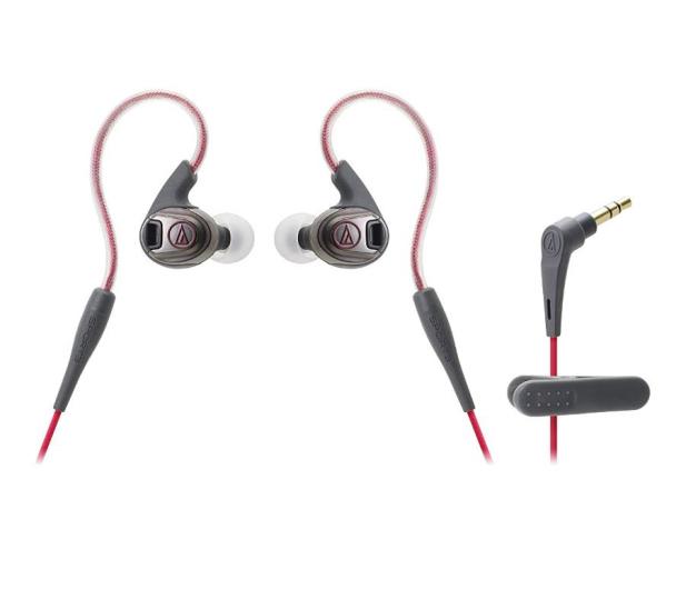 Audio-Technica ATH-SPORT3 Czerwony - 461523 - zdjęcie