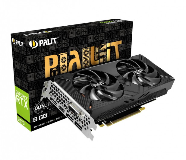 Palit GeForce RTX 2070 DUAL 8GB GDDR6 - 461991 - zdjęcie