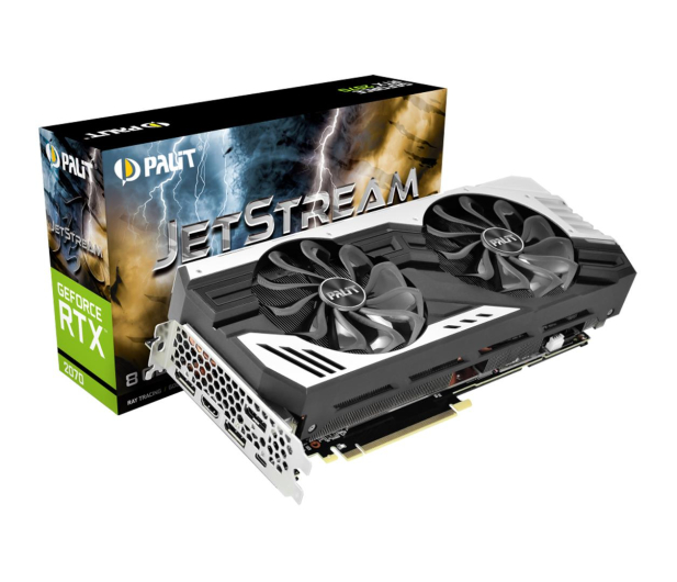 Palit GeForce RTX 2070 JetStream 8GB GDDR6 - 461997 - zdjęcie