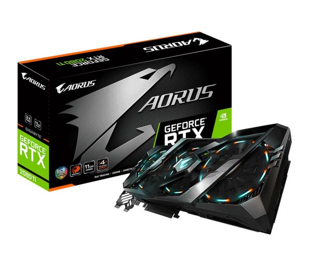 Gigabyte GeForce RTX 2080 Ti AORUS 11GB GDDR6 - 462106 - zdjęcie