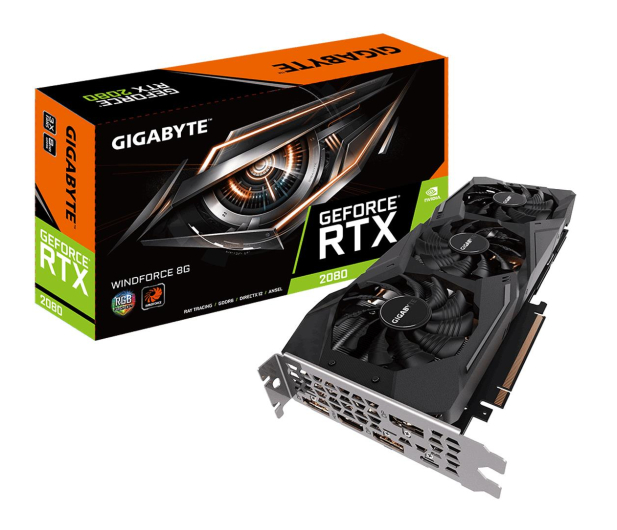 Gigabyte GeForce RTX 2080 WINDFORCE 8GB GDDR6 - 462079 - zdjęcie