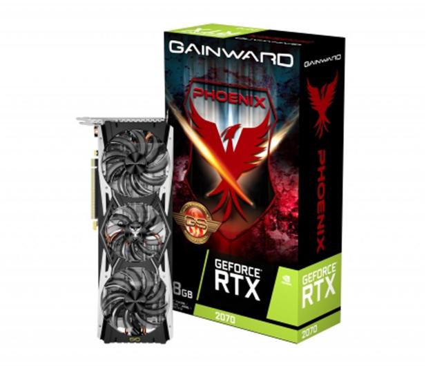 """Gainward GeForce RTX 2070 Phoenix """"GS"""" 8GB GDDR6 - 462150 - zdjęcie"""