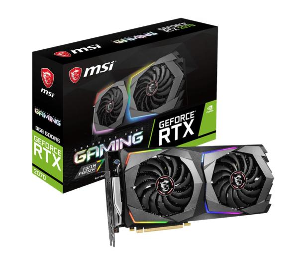 MSI GeForce RTX 2070 GAMING 8GB GDDR6 - 462341 - zdjęcie