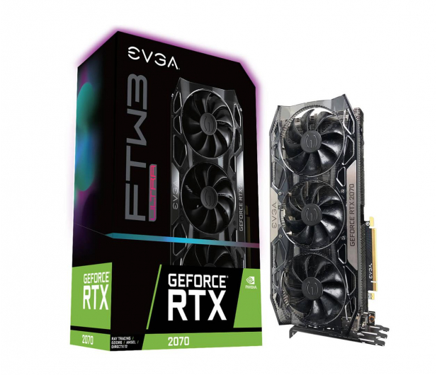 EVGA GeForce RTX 2070 FTW3 ULTRA GAMING 8GB GDDR6 - 462369 - zdjęcie