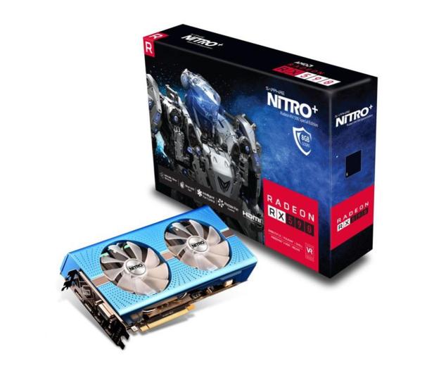Sapphire Radeon RX 590 NITRO+ Special Edition 8GB GDDR5 - 462827 - zdjęcie