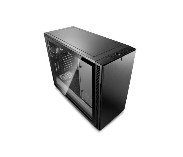 Fractal Design Define R6C Blackout Tempered Glass - 463045 - zdjęcie