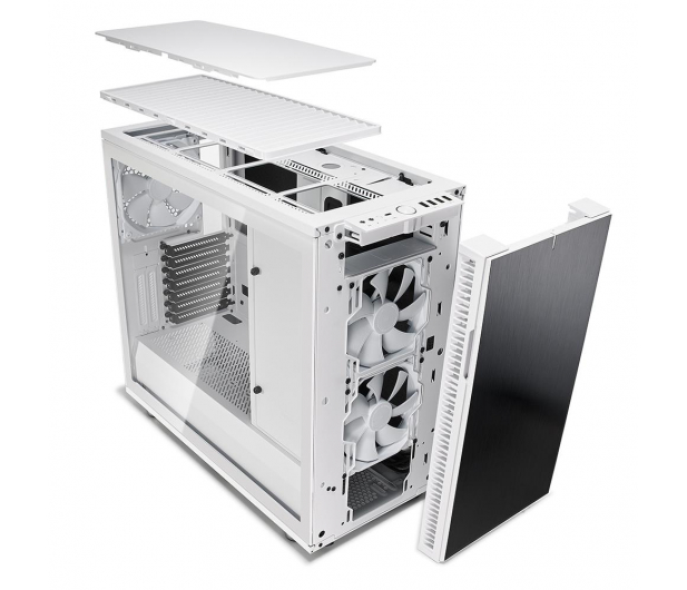 Fractal Design Define R6C White Tempered Glass - 463049 - zdjęcie 8