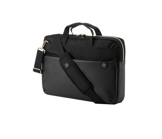 """HP Pavilion Accent Briefcase 15,6"""" czarno-złota - 462642 - zdjęcie"""
