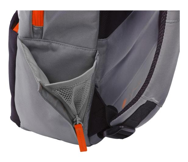"""HP Duotone Backpack 15,6"""" szaro-pomarańczowy - 462636 - zdjęcie 4"""