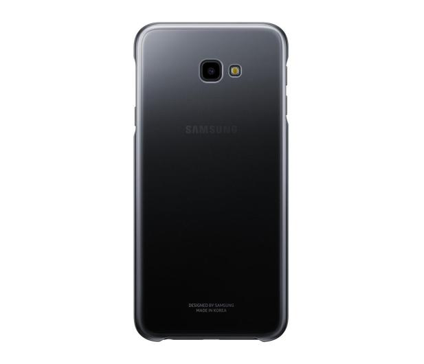 Samsung Gradation cover do Galaxy J4+ czarne  - 463065 - zdjęcie