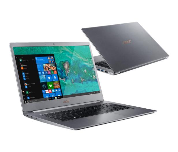 Acer Swift 5 i7-8565U/16GB/512PCIe/Win10 FHD IPS Szary - 467504 - zdjęcie