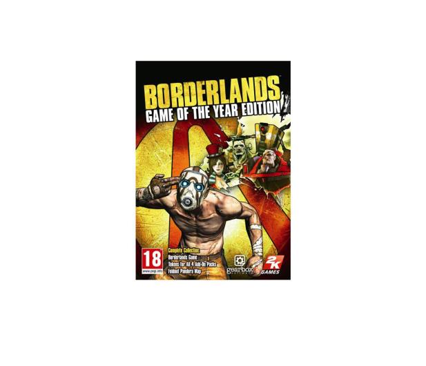 PC Borderlands (GOTY) ESD Steam - 463590 - zdjęcie