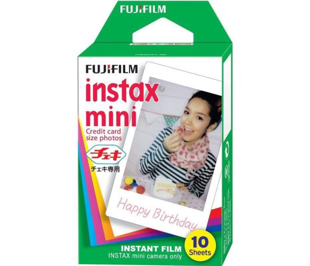 Fujifilm Instax Mini 9 niebieski + wkład 10pk + pokrowiec - 393611 - zdjęcie 8