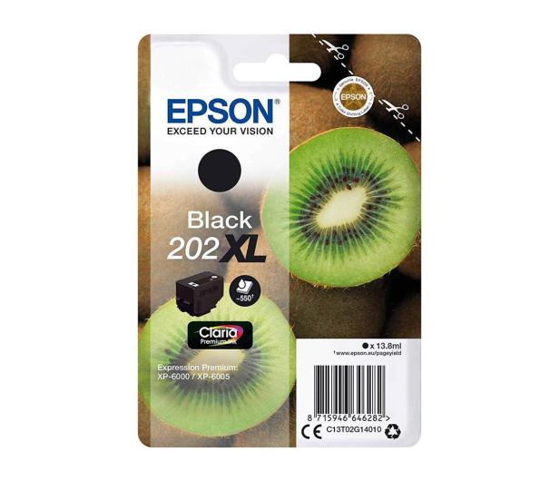Epson 202XL Black 13,8ml (C13T02G14010) - 464297 - zdjęcie