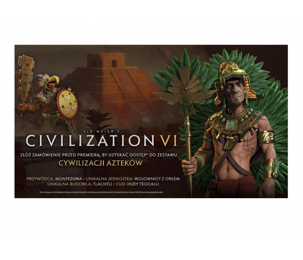 PC Civilization 6 - Aztec Civilization Pack ESD Steam - 460891 - zdjęcie