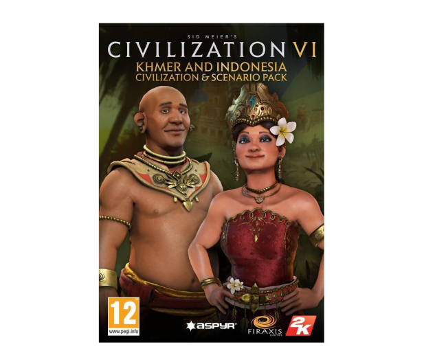 2K Games Civilization 6 - Khmer and Indonesia Civ ESD Steam - 463621 - zdjęcie