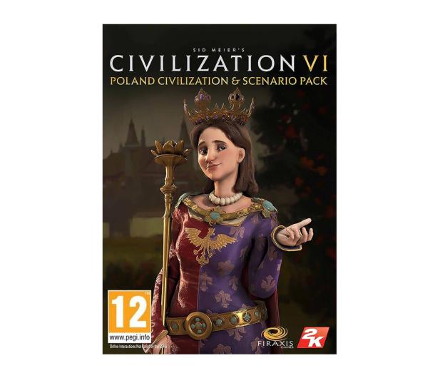 2K Games Civilization 6 - Poland Civ Pack (DLC) ESD Steam - 463622 - zdjęcie