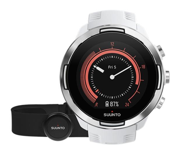 Suunto 9 Baro G1 HR GPS White - 459483 - zdjęcie