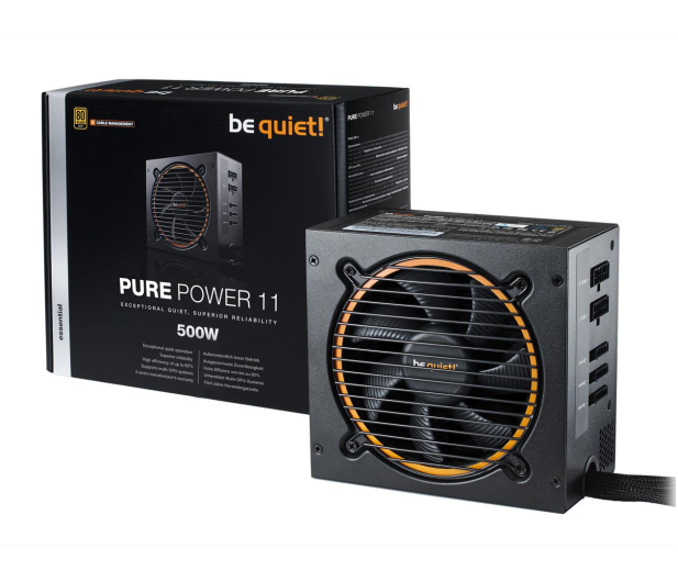 be quiet! Pure Power 11 CM 500W 80 Plus Gold - 459597 - zdjęcie