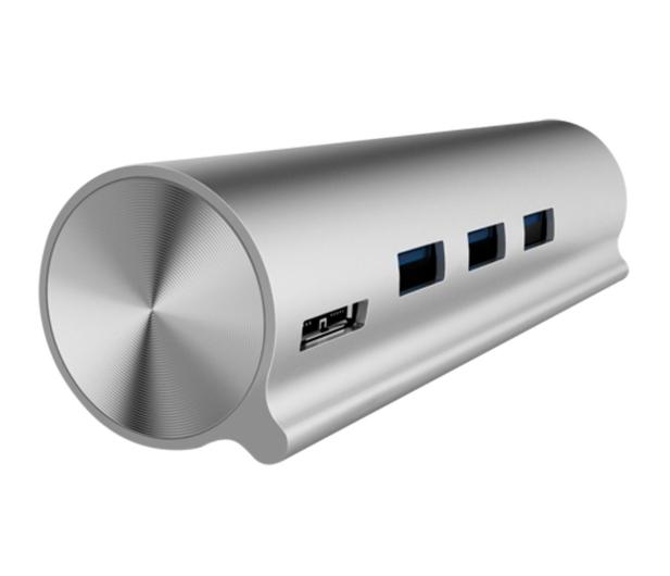 Unitek HUB USB-C - 3xUSB 3.0 + czytnik kart - 460124 - zdjęcie