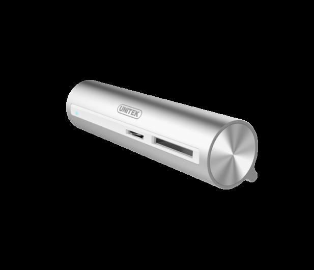 Unitek HUB USB-C - 3xUSB 3.0 + czytnik kart - 460124 - zdjęcie 5