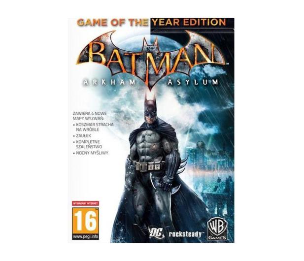 PC Batman: Arkham Asylum (GOTY) ESD Steam - 463535 - zdjęcie