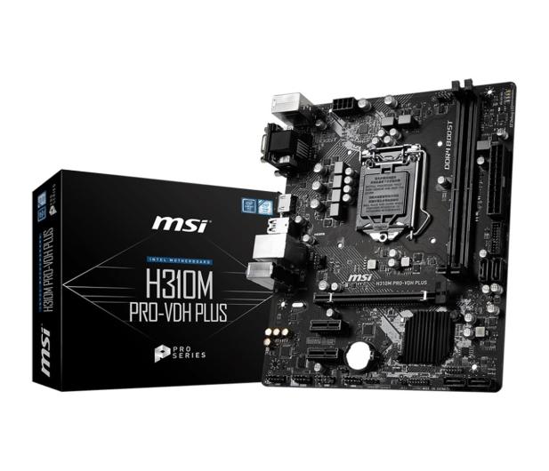 MSI H310M PRO-VDH PLUS - 461967 - zdjęcie