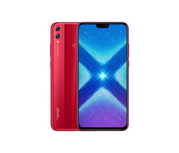 Honor 8x 4/128GB czerwony  - 449204 - zdjęcie