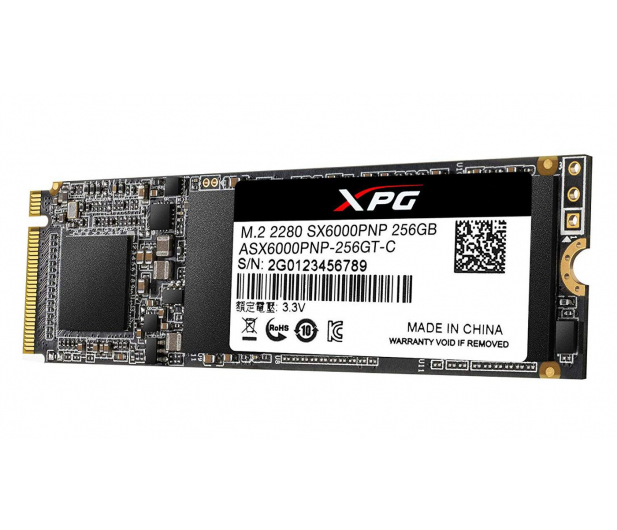 ADATA 256GB M.2 PCIe NVMe XPG SX6000 Pro - 460202 - zdjęcie 2