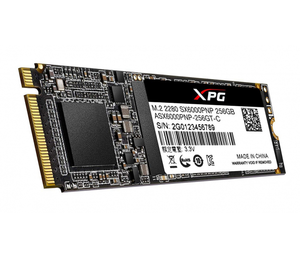 ADATA 256GB M.2 PCIe NVMe XPG SX6000 Pro - 460202 - zdjęcie 4