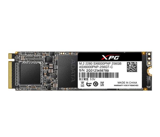 ADATA 256GB M.2 PCIe NVMe XPG SX6000 Pro - 460202 - zdjęcie
