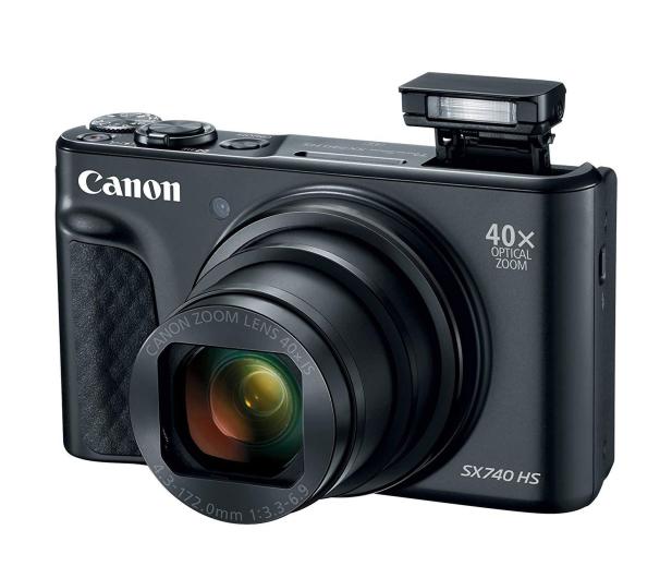 Canon PowerShot SX740 czarny - 460628 - zdjęcie 5