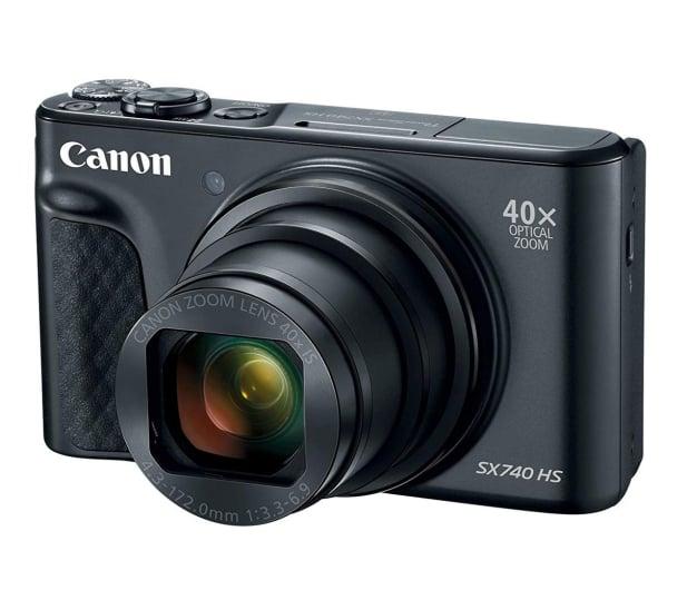 Canon PowerShot SX740 czarny - 460628 - zdjęcie