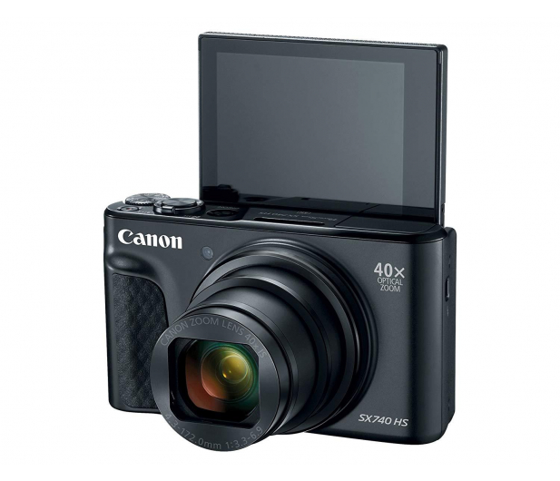 Canon PowerShot SX740 czarny - 460628 - zdjęcie 7