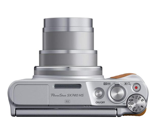 Canon PowerShot SX740 srebrny - 460625 - zdjęcie 3
