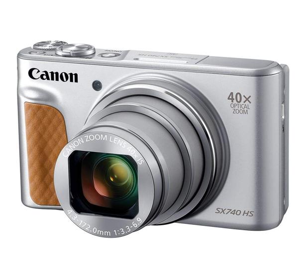 Canon PowerShot SX740 srebrny - 460625 - zdjęcie