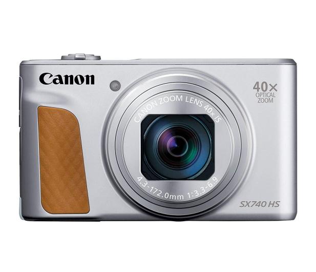 Canon PowerShot SX740 srebrny - 460625 - zdjęcie 2
