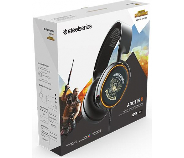 SteelSeries Arctis 5 PUBG Edition - 460223 - zdjęcie 5