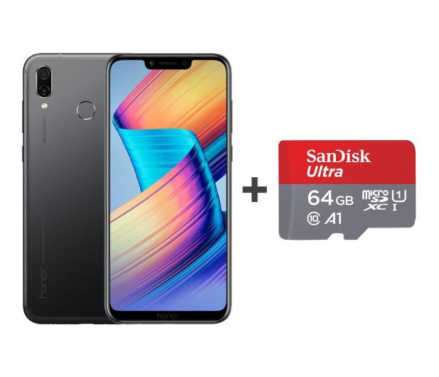 Honor Play Dual SIM 64 GB czarny + Karta microSD 64GB - 461089 - zdjęcie